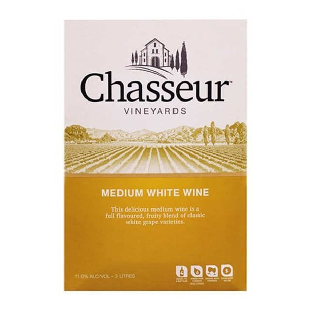 CHASSEUR MEDIUM WHITE 3L CHASSEUR MEDIUM WHITE 3L