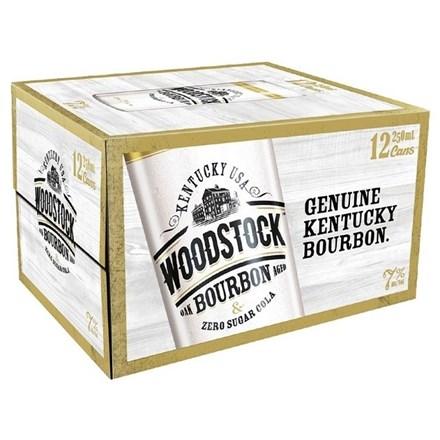 WOODSTOCK ZERO 12PK CANS WOODSTOCK ZERO 12PK