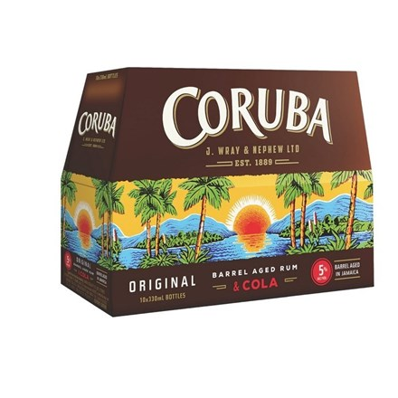 CORUBA 5% 10PK BTL CORUBA 5% 10 BTL